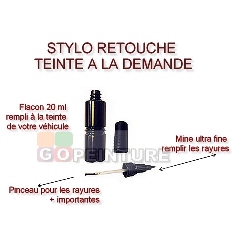 pack stylos retouche peinture vernis auto moto. Black Bedroom Furniture Sets. Home Design Ideas