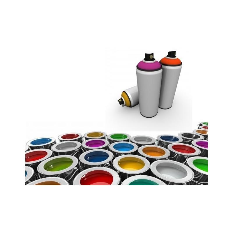 Peinture polyuréthane en spray 2C avec durcisseur
