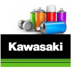 Peinture moto Kawazaki solvantée spray 400ml