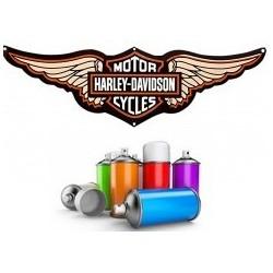 Peinture Harley Davidson en bombe