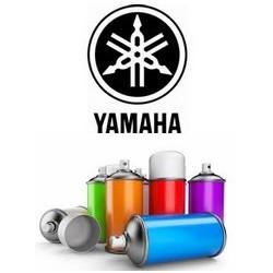 Peinture pour Yamaha en bombe + vernis