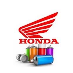 Peinture moto Honda en spray + vernis