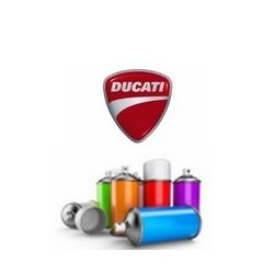 Peinture moto Ducati en spray 400ml