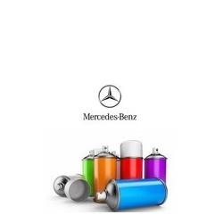 Pack peinture + vernis en aérosol pour Mercedes