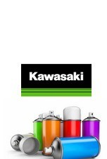 pack peinture et vernis en bombe pour kawasaki. Black Bedroom Furniture Sets. Home Design Ideas