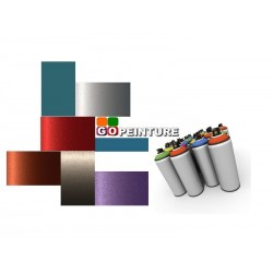 Peinture en spray + vernis en aérosol 2C