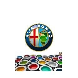 Peinture  ALFA ROMEO  base mat solvantée 500 ml