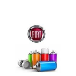 Peinture FIAT solvantée en bombe