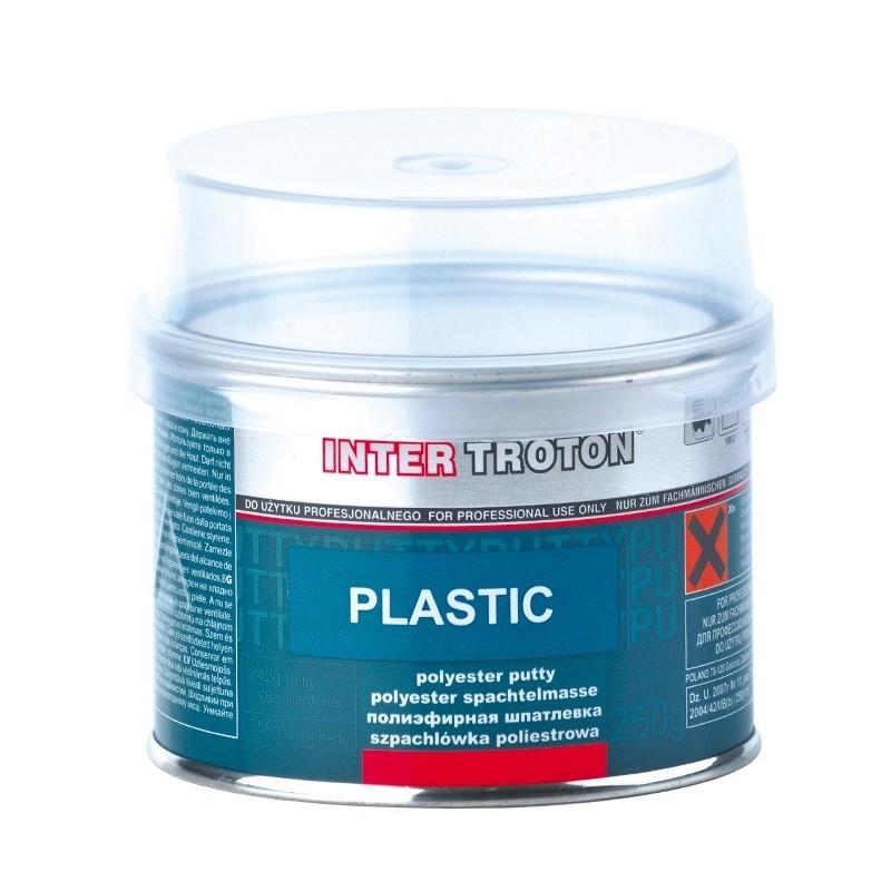 Mastic pour plastique. spécialement dédié pour la réparation de surfaces plastiques soumises aux vibrations.