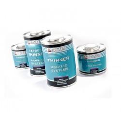 Diluant pour apprêt, vernis et peinture. bidon de 1 litre