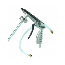 Pistolet pour antigravillon et corps creux avec regulateur de pression