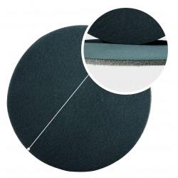 Disque abrasif en tissu sur mousse